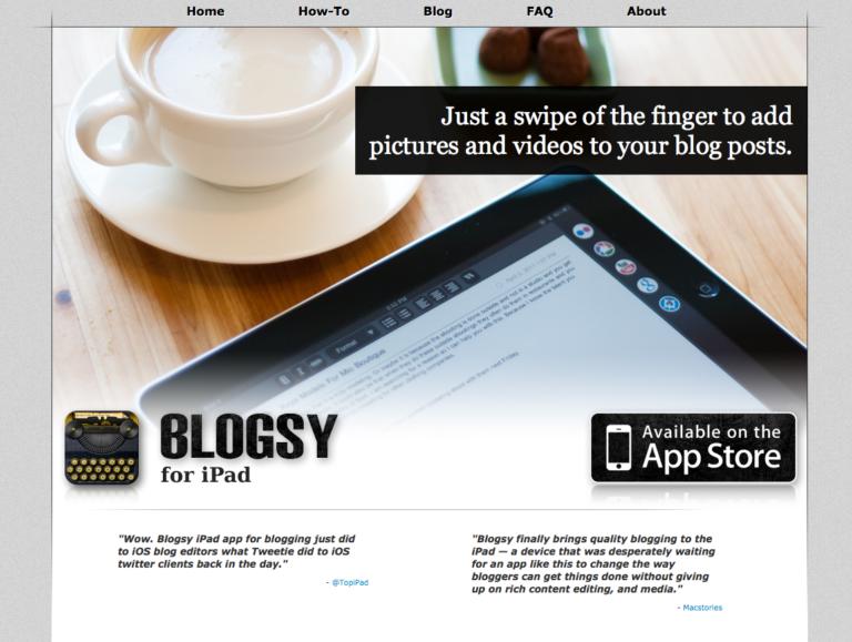 Blogsy Is App of the Week
