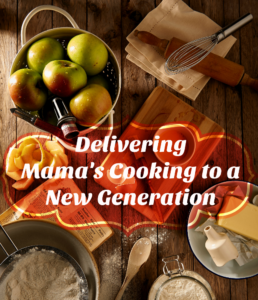 Delivering Mam;s Cooking to a New Generation - apple pie ingredients background